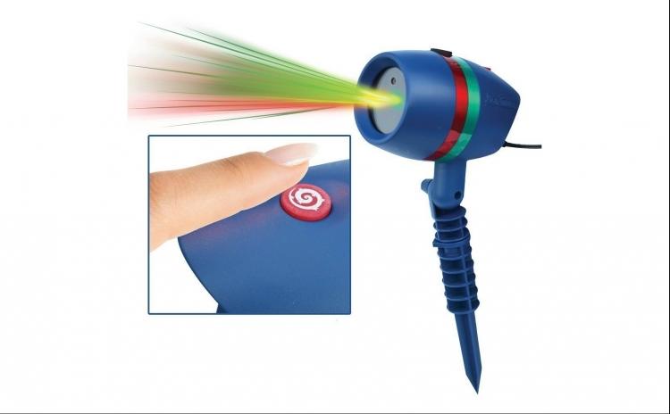 Proiector laser pentru exterior sau interior, rezistent la apa