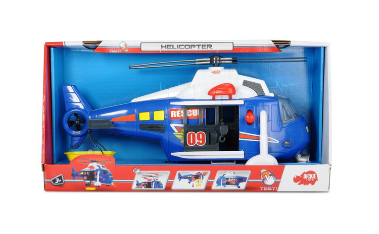 DICKIE ELICOPTER 41 CM CU SUNET SI