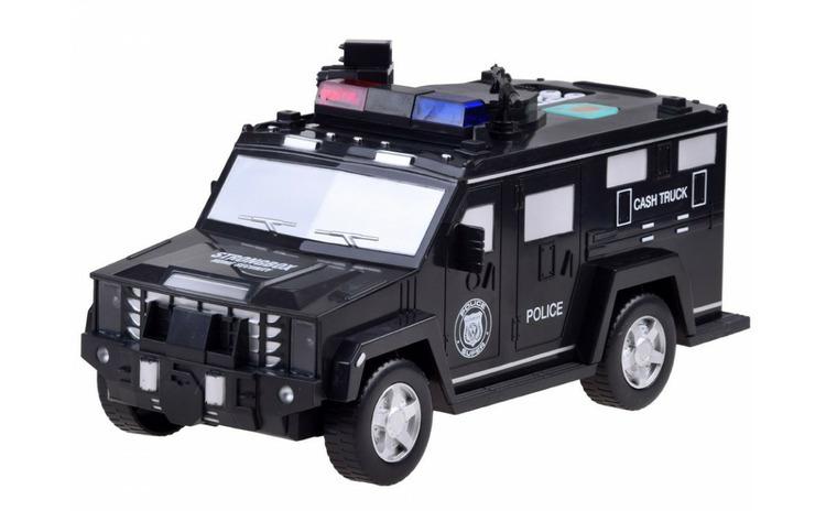 Masina de politie pusculita