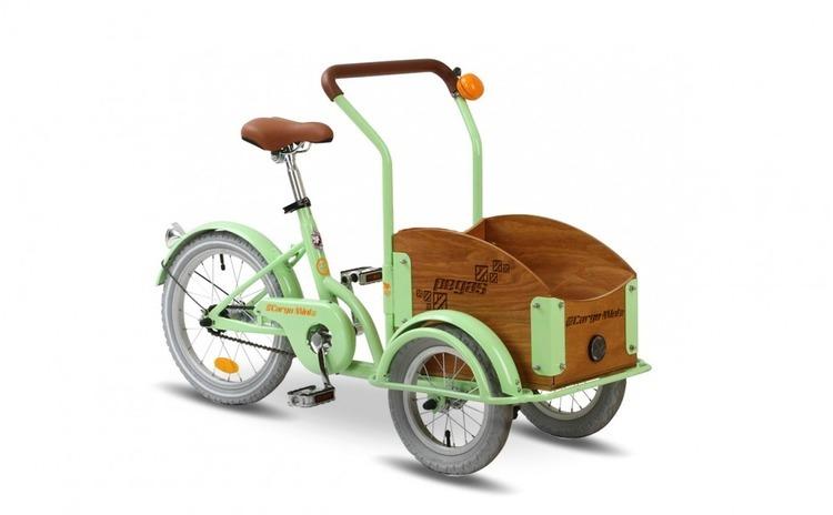 Pegas Mini Cargo 1 viteza, Verde Fistic