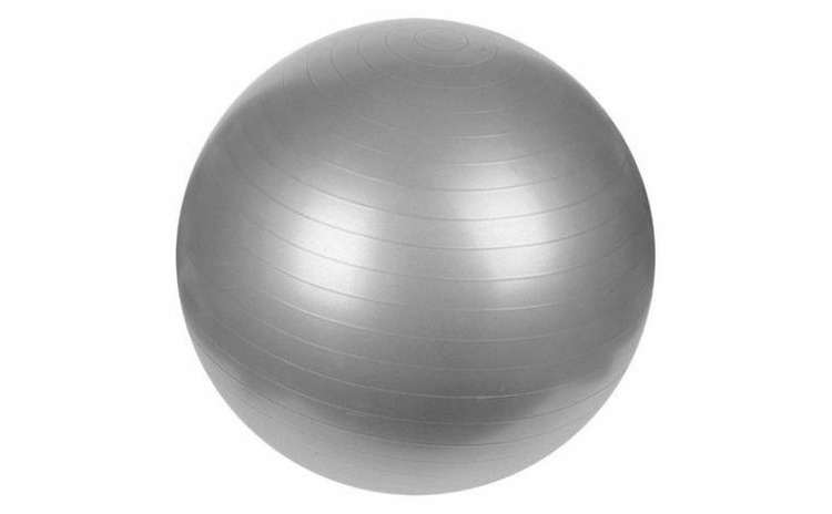 Minge fitness gri, 75 cm