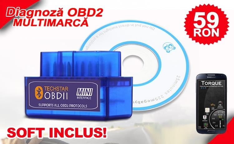 Interfata OBD2 cu Soft Inclus