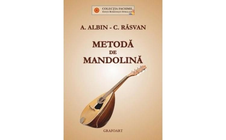 Metoda de mandolina, autor A. Albin, C.