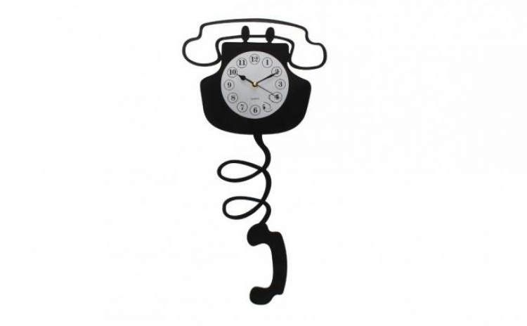 Ceas De Perete In Forma De Telefon La Doar 79 Lei In Loc De 160 Lei