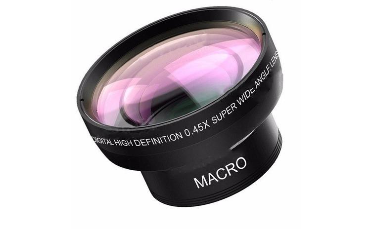 Set lentile Wide si Macro pentru telefon