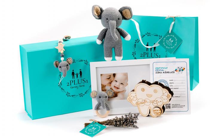 """Set cadou personalizat """"Planeta"""" bebelus"""