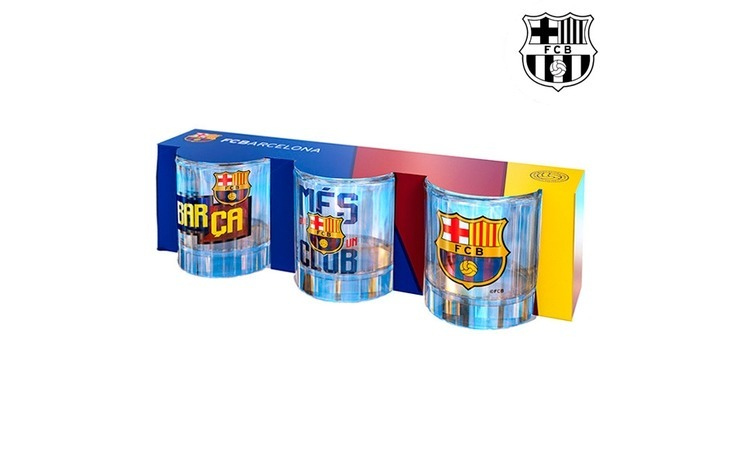 Pahare Shot F.C. Barcelona (pachet de