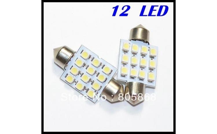 Festoon 36 mm 12 LED SMD Festoon C5W -