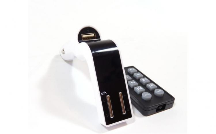 Modulator FM Bluetooth dual USB