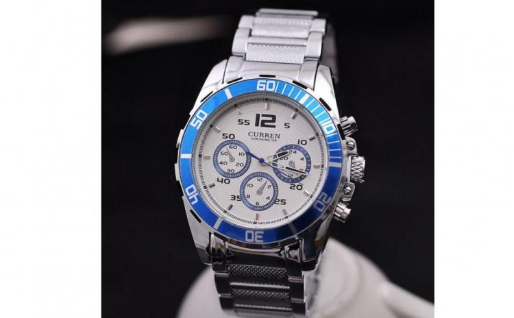 Ceas Curren Jw401 - Blue, La Doar 99 Ron In Loc De 198 Ron