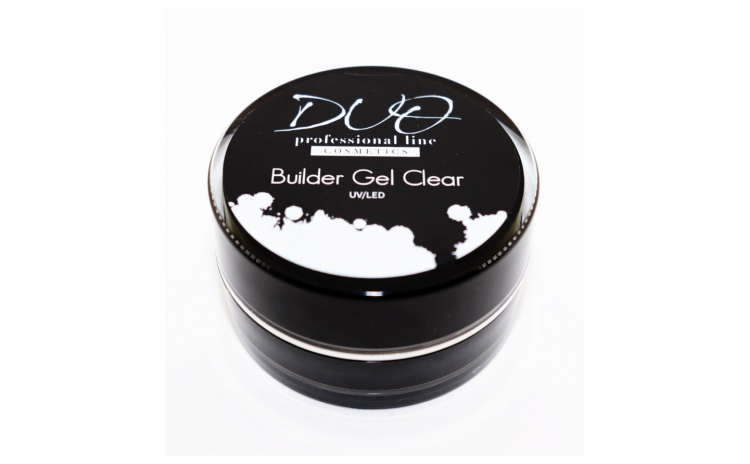 Gel DUO Professional Builder Clear 15ml