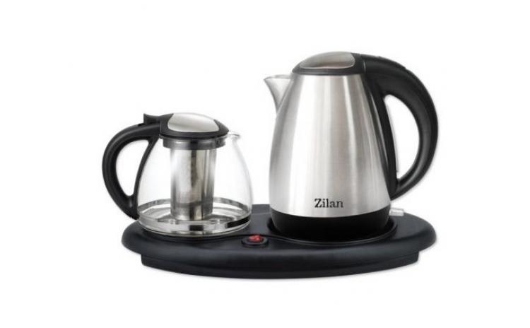 Set Fierbator Ceai + Cafea Zilan  La 180 Ron In Loc De 219 Ron