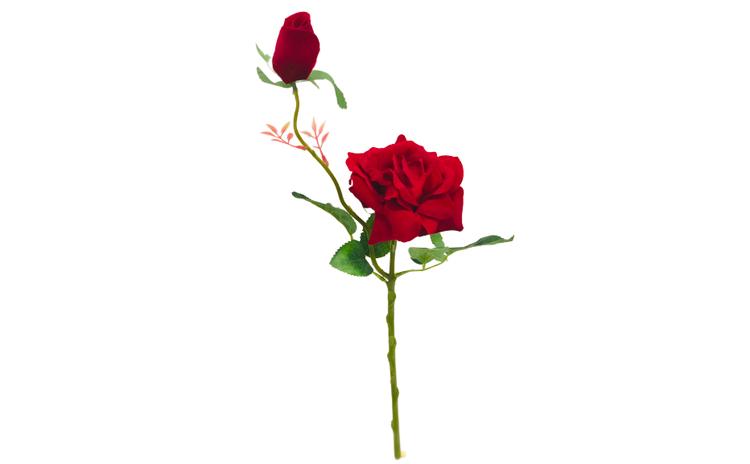 Fir de trandafir artificial decorativ,