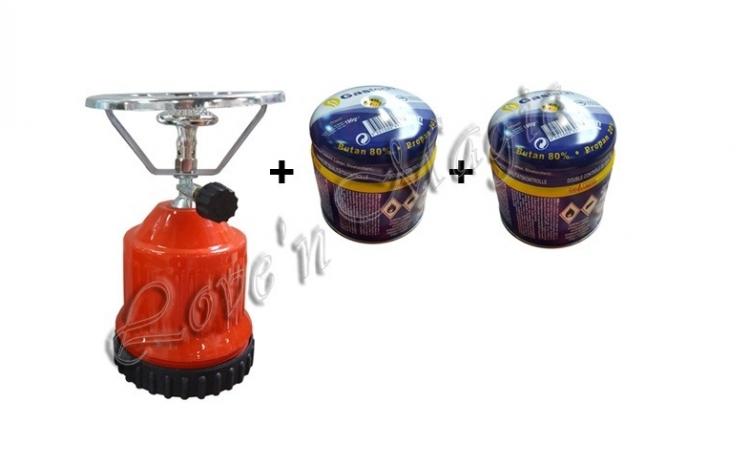 Set lampa de gatit + 2 doze gaz