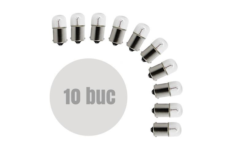 Bec auto T16 BA15s - 12V 10W Pret / set