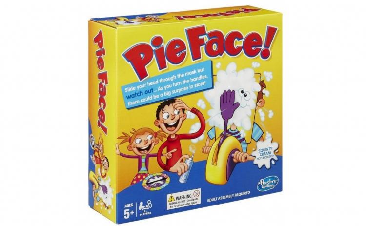 Joc distractiv ruleta cu frisca Pie Face