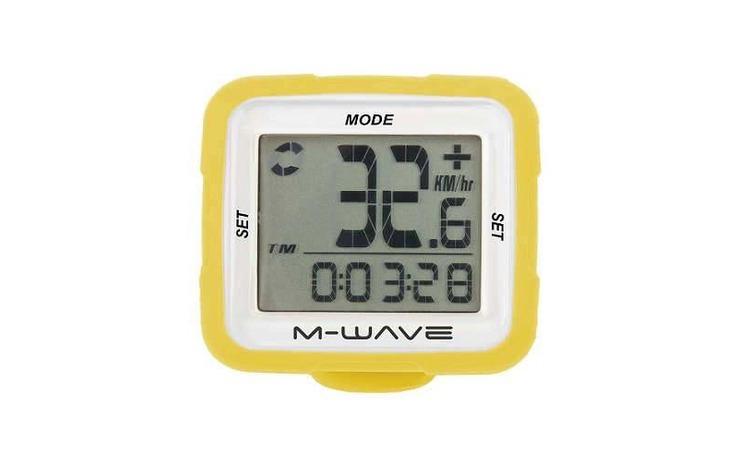 Bike computer 14F M-WAVE S1 - wireless