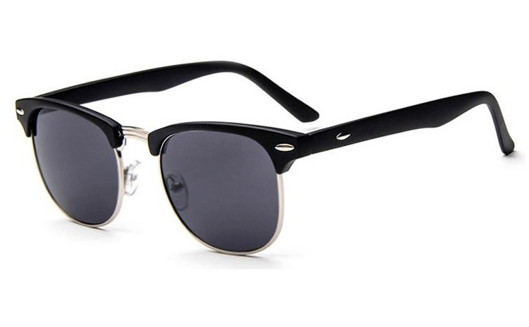 Ochelari de soare Retro Negru -