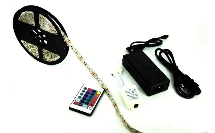 Rola banda RGB 5050 72W 12V+