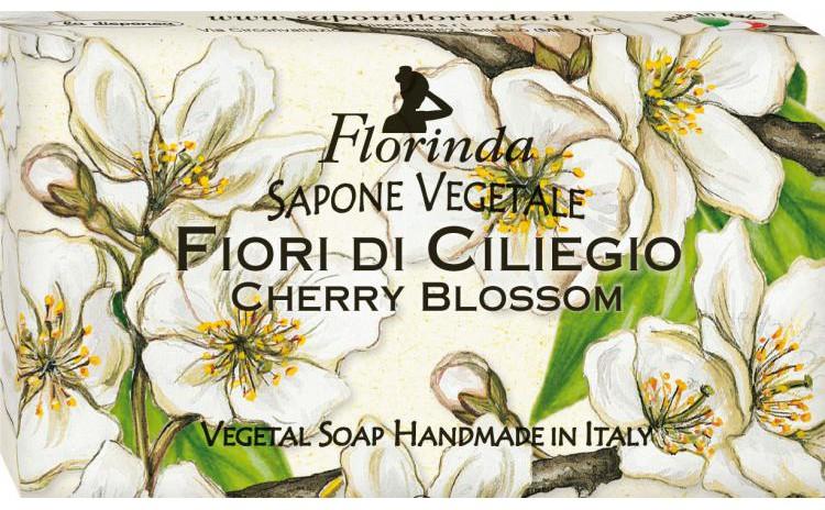 Sapun vegetal cu flori de cires, 100 g