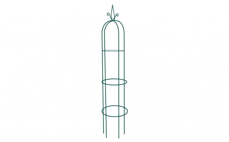 Suport metalic de gradina pentru flori