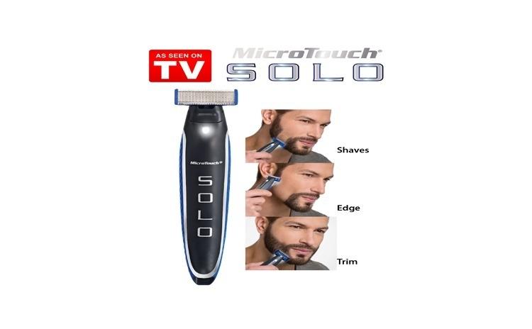 Trimmer facial Solo - pentru o barbierire egala pe toata lungimea fetei