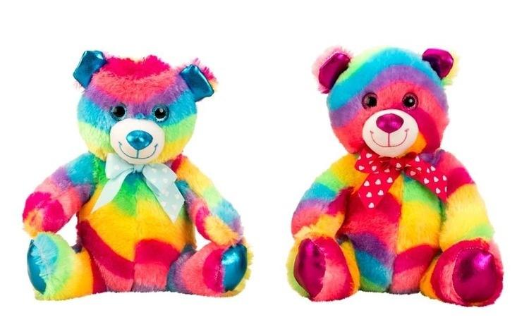 Ursulet de plus rainbow