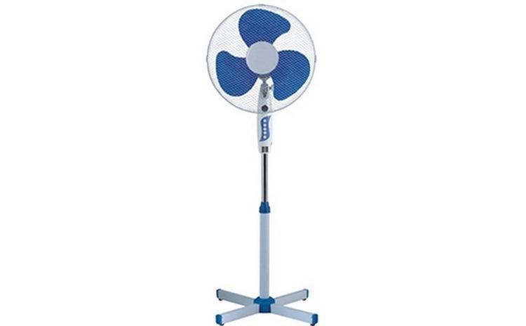 Imagine indisponibila pentru Ventilator cu picior Esperansa ES 1760 B, 40W , 40 cm, 3 viteze de putere, reglare a inaltimii, alb / albastru
