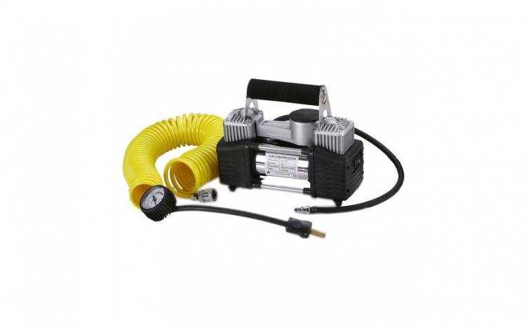 Compresor auto de aer cu doi cilindri
