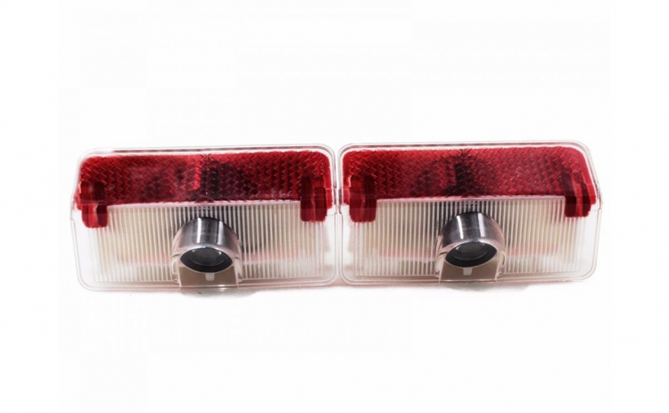 Lampi led logo portiere Mercedes GLK