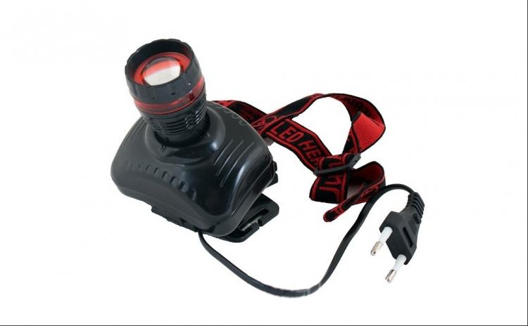 Lanterna frontala zoom LED 1W