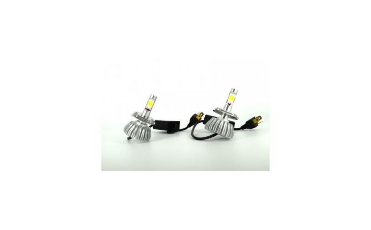 Set Bec LED X01 2 buc H1 6000K