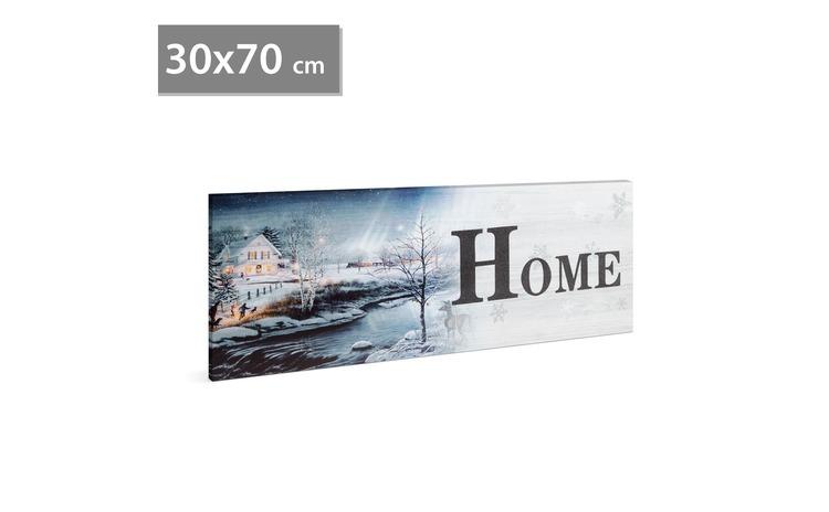 FAMILY POUND - Tablou cu LED - Home