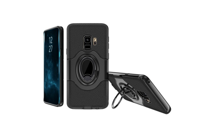Husa Samsung Galaxy S9 Ipaky Ring Negru