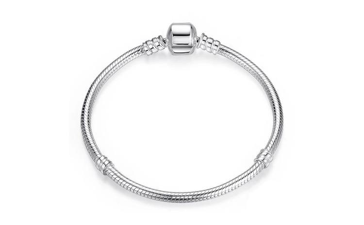 Bratara pentru talismane din argint 925