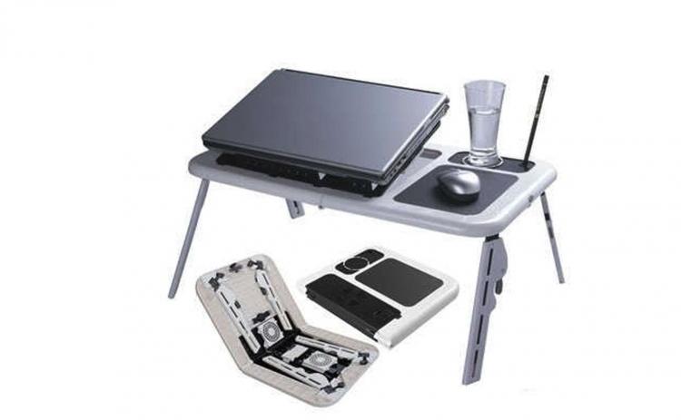 Masuta laptop E-Table cu 2 coolere