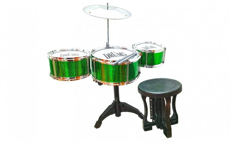 Tobe verzi cu scaunel - jucarie muzicala
