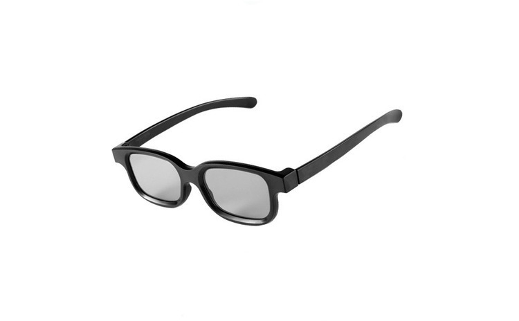 Imagine indisponibila pentru Ochelari 3d pasivi polarizati tip wayfarer pentru tv