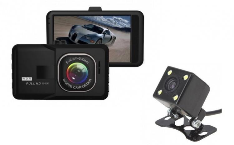 Camera auto Video fata si spate