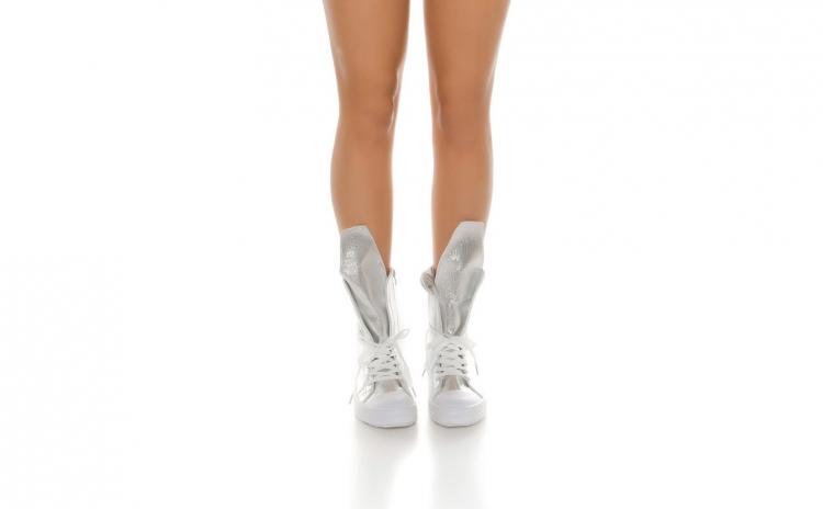 Sneakers dama Silver Beauty
