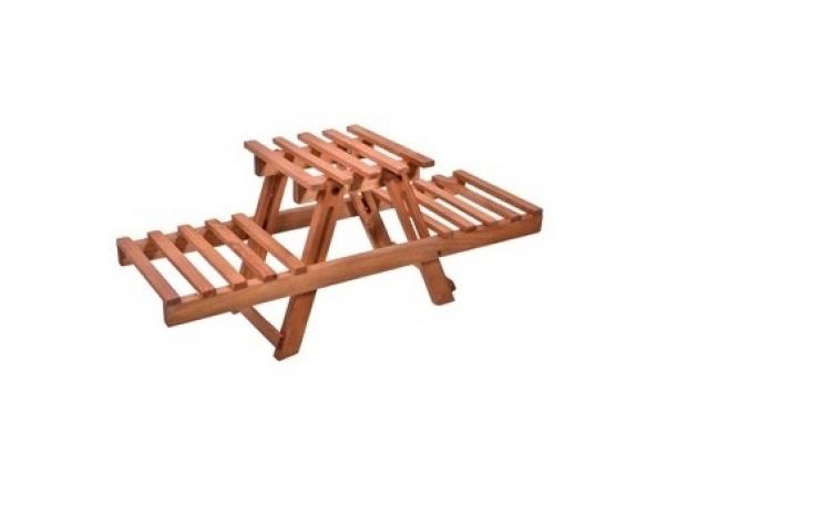 Imagine indisponibila pentru Suport din lemn pentru ghivece, la doar 69 RON in loc de 139 RON