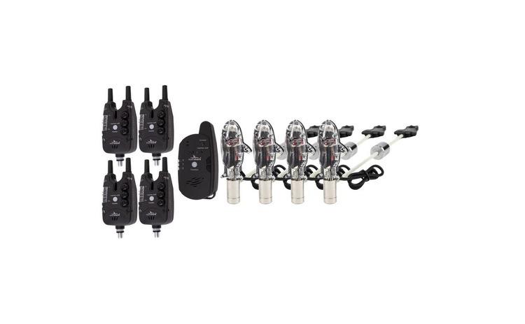 Set 4 senzori cu statie, cu snagbar fix