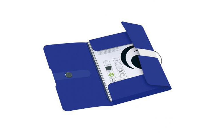 Imagine indisponibila pentru DOSAR MAPA A4 PP EOGT EXTENSIBILA INCHIDERE BUTON CU ELASTIC SI INDEX, INTENSE BLUE