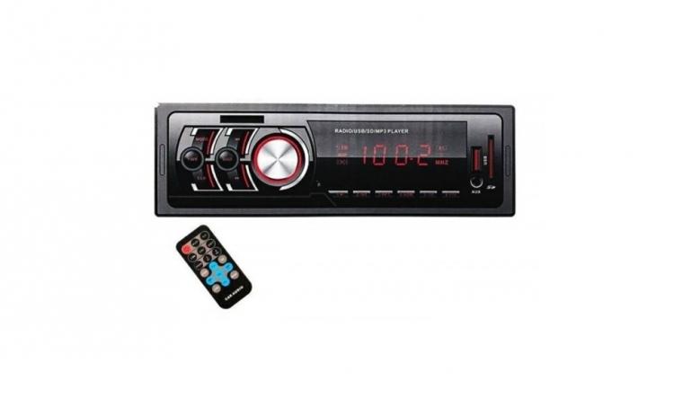 Radio MP3 Player Auto, 45W x 4 cu SD, USB, AUX, LED, CDX-1782E cu telecomanda