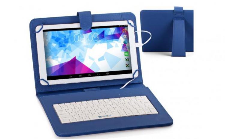 Husa Tableta 9 Inch Cu Tastatura Micro