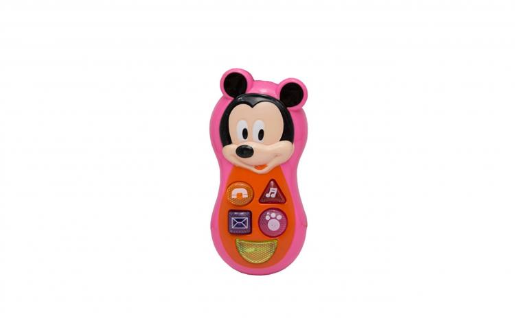 Telefon muzical pentru copii Mickey