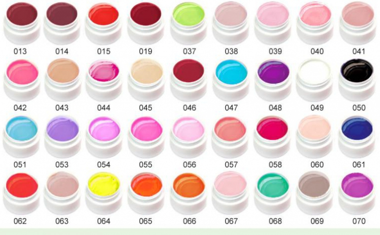 Kit 36 geluri UV+Pensule