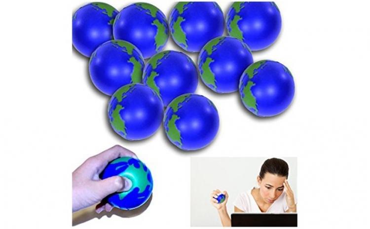 Set 10 mingi antistres, glob pamantesc