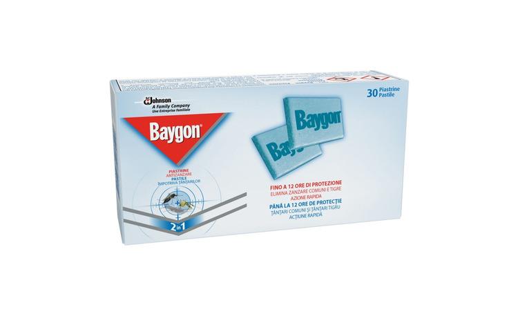 Pastile pentru tantari Baygon 30 bucati