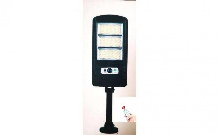 Lampa solara cu 225 de led-uri